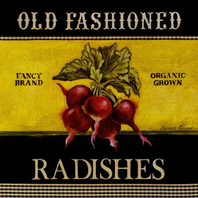 Old Fashioned Radishes Posters by Kimberly Poloson