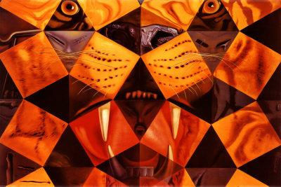 Cinquenta, Tigre Real Posters by Salvador Dalí