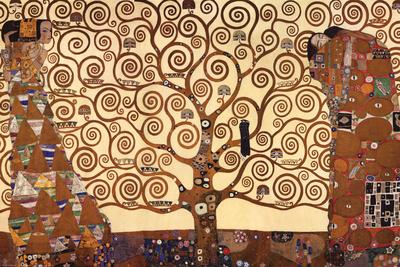 Drzewo życia, Stoclet Frieze, ok. 1909 Reprodukcja