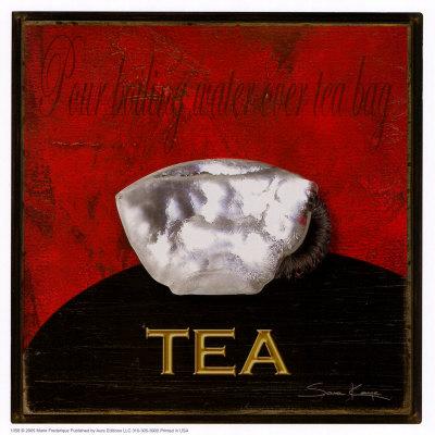 Tee Poster von Sara Kaye
