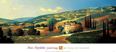 My Villa in Tuscany Art Print