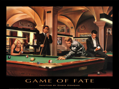 Game of Fate Poster Print
