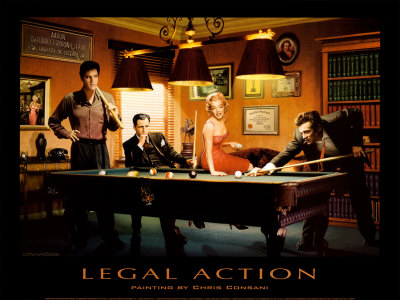 Legal Action Reproduction d'art
