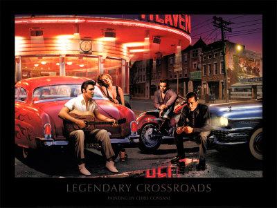 Legendary Crossroads Prints by Chris Consani