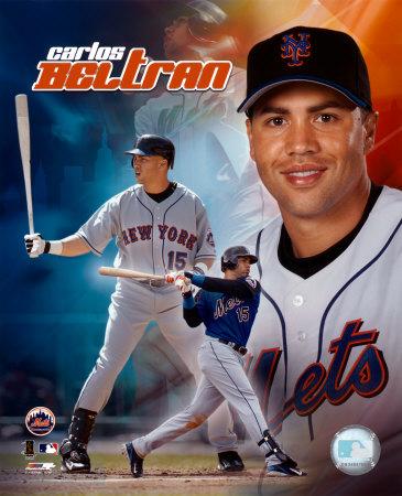 Carlos Beltran - 2005 Composite Photo