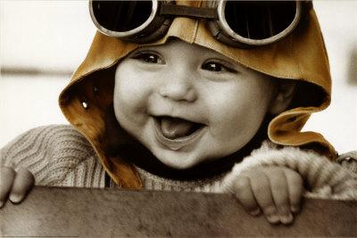 Bebé piloto Póster