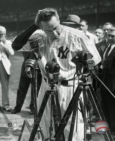 Lou Gehrig - Farewell 2 (Horizontal) Photo