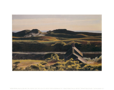 Hills, South Truro, 1930 Art Print
