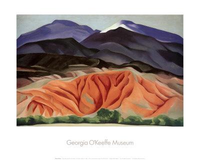 Black Mesa Landscape, Outside of Marie's Art by Georgia O'Keeffe
