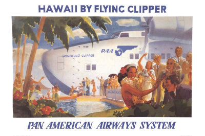 Honolulu Clipper Poster