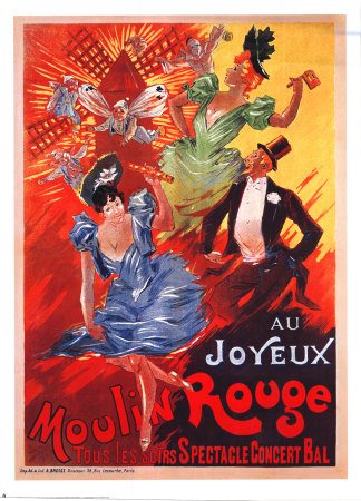 Moulin Rouge (1900) Reproduction d'art