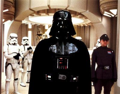 Darth Vader Tarjeta de póster