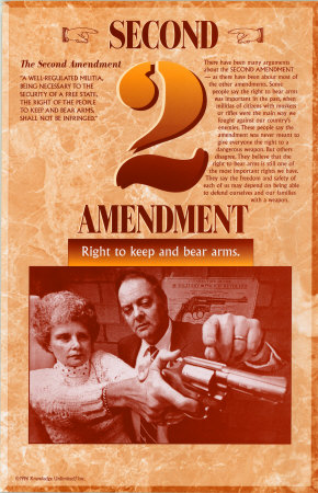 The Bill of Rights - Second Amendment Posters
