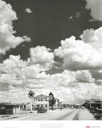 Route 66, Arizona, 1947 Prints by Andreas Feininger