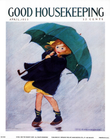 Good Housekeeping - April 1922 Reproduction d'art