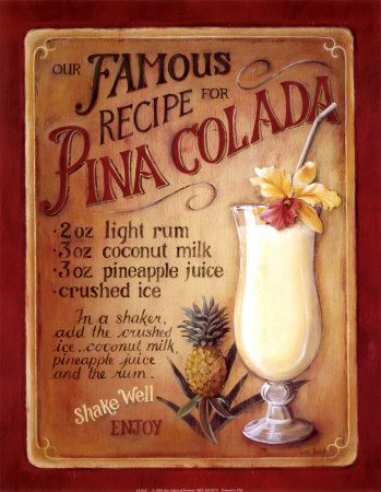 Pina Colada Art Print