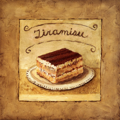 Tiramisu Reproduction d'art