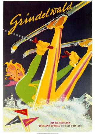 Grindelwald Prints by Martin Peikert
