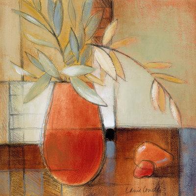 Afternoon Bamboo Leaves II Print by Lanie Loreth