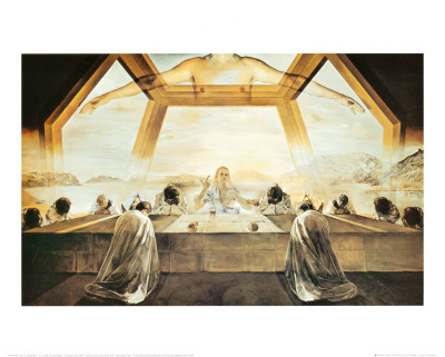 The Sacrament of the Last Supper, c.1955 Prints by Salvador Dalí