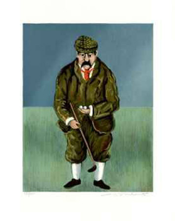 Scotland`s John Ball Collectable Print by Guy Buffet
