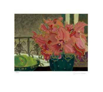 Petite Fleur Suite I Collectable Print by Ellen Gunn