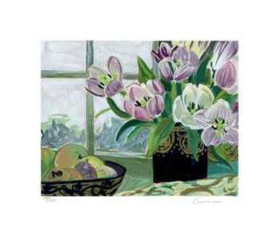 St. Tropez Tulips Limited Edition by Ellen Gunn