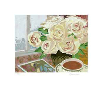 Old Roses Collectable Print by Ellen Gunn