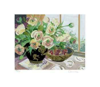Spring Ranunculus Collectable Print by Ellen Gunn