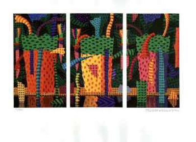A Day in the Rainforest Collectable Print by Ian Tremewen