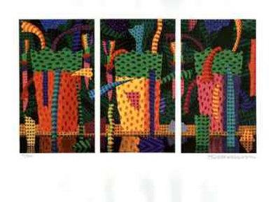 A Day in the Rainforest Stampa da collezione di Ian Tremewen