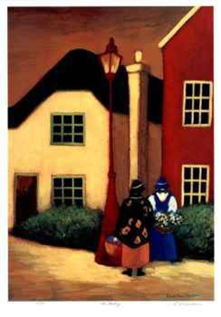 The Meeting Collectable Print by Carol Ann Shelton