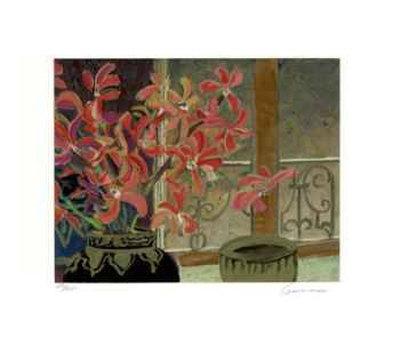 Petite Fleur Suite II Collectable Print by Ellen Gunn
