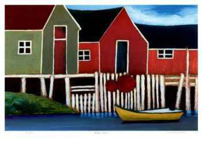 South Shore Collectable Print by Carol Ann Shelton