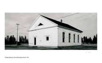 Point be Bute Baptist Church Limited Edition by Thaddeus Holownia