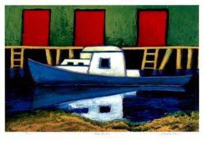 Moose Harbor Collectable Print by Carol Ann Shelton