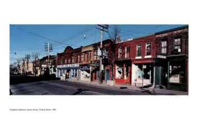 Queen Street, 13 Busy Street Limited Edition by Thaddeus Holownia