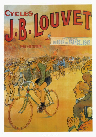 Cycles J.B. Louvet Konsttryck