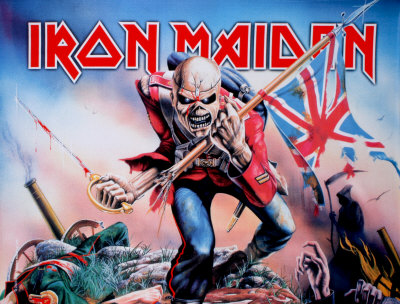 Iron Maiden -Trooper Fabric Poster