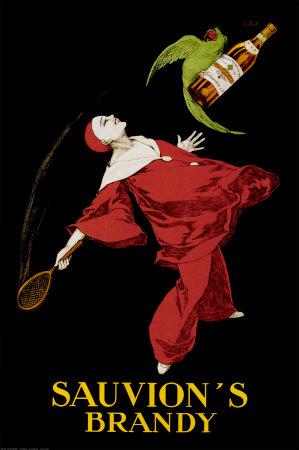 Sauvion's Brandy Posters by Leonetto Cappiello