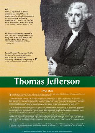 Founding Fathers:Thomas Jefferson Art