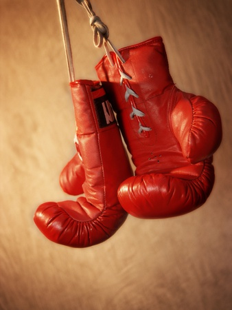 Red Boxing Glove Photo Print