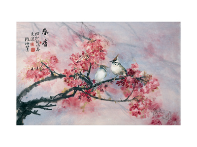 Spring Full of Fragrance Giclee Print by Haizann Chen