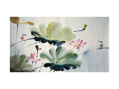 Couples Giclee Print by Chi Wen