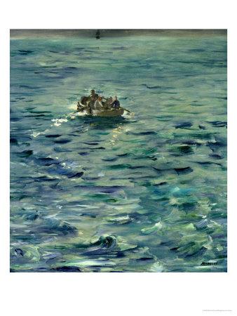 The Escape of Henri De Rochefort (1831-1915) 20 March 1874, 1880-81 Premium Giclee Print by Édouard Manet
