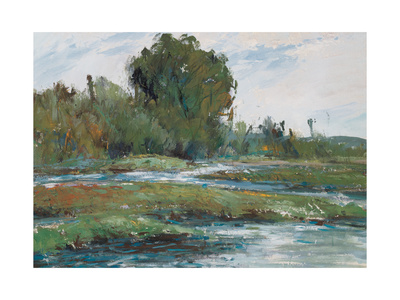 By the Stream Giclee Print by Wanqi Zhang