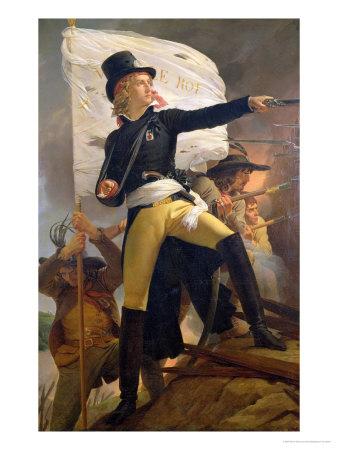 Henri De La Rochejaquelein (1772-94), Leader of the Revolt in the Vendee, 1817 Premium Giclee Print by Pierre Narcisse Guérin