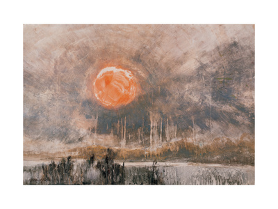 Fierce Sun Giclee Print by Wanqi Zhang