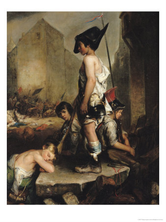 The Little Patriots, 1830 Giclee Print