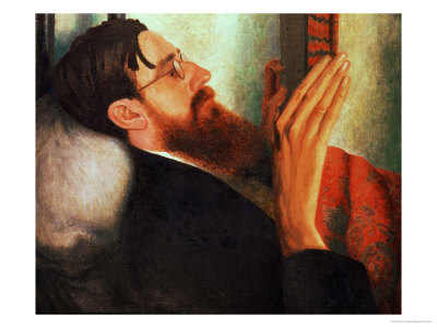 Lytton Strachey, (1880-1932) 1916 Premium Giclee Print by Dora Carrington